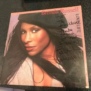 Brenda Russell Love Life Authentic Signed LP